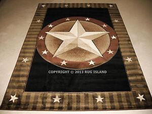 5x8 5 39 3 x 7 39 6 designer texas lone star western cowboy for Lone star home decor