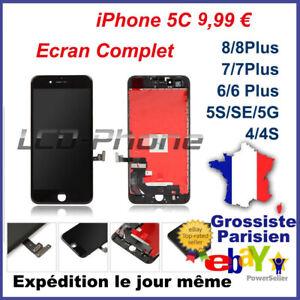 Ecran-Complet-LCD-Vitre-Tactile-Chassis-iPhone-4-4S-5-5C-5S-SE-6-6S-7-8-Plus