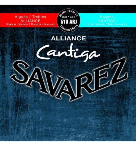 Jeu de cordes guitare classique Savarez 510ARJ Alliance Cantiga Tirant mixte
