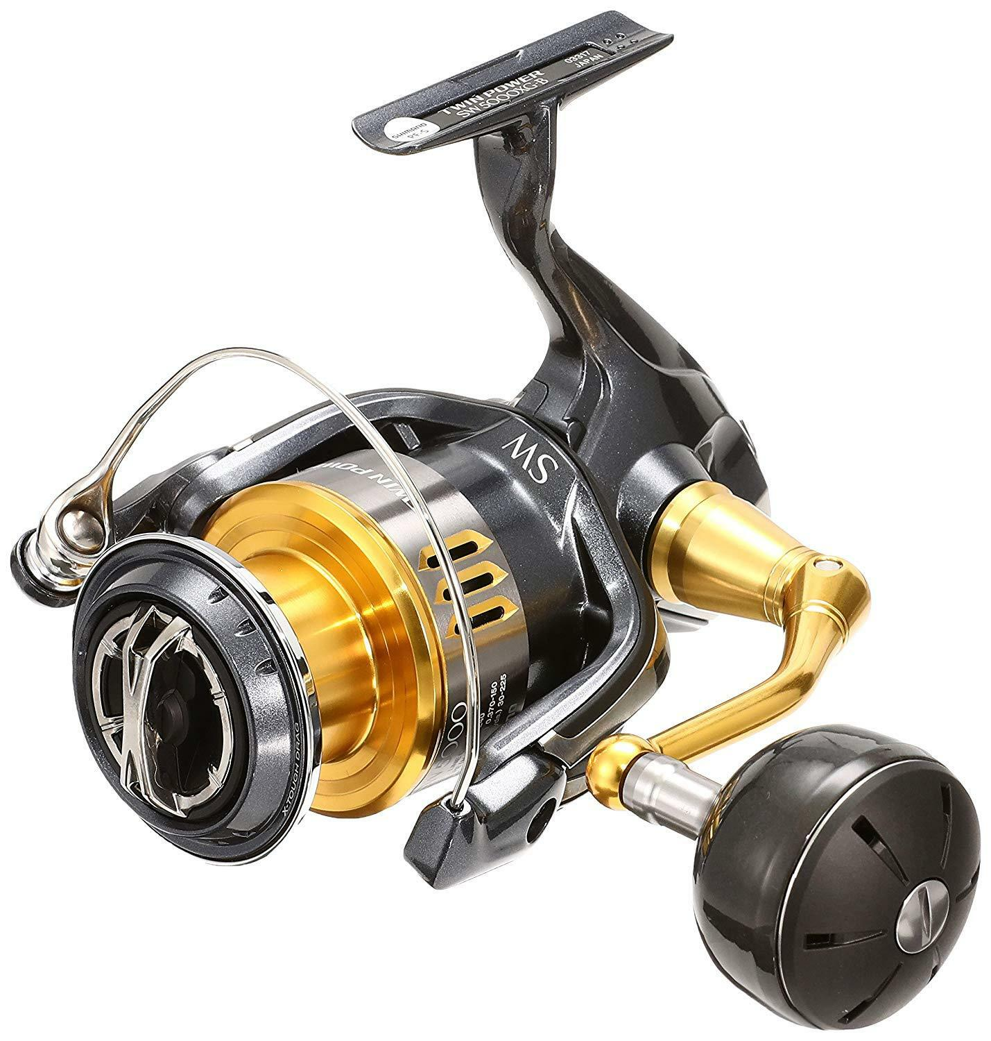 Shiuomoo 15 Twin energia SW5000XG pesca Spinning Reel From Japan