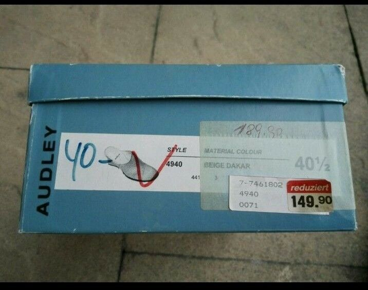 ☀ AUDLEY ☀ Pantoletten Pantoletten ☀ in Beige 7236b0