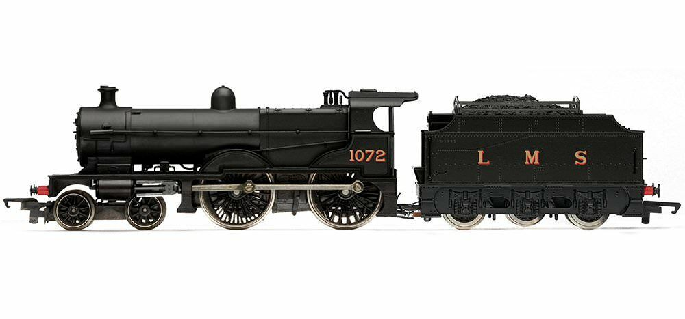Hornby Railroad 00 Gauge LMS Compound with Fowler Tender Steam Locomotive