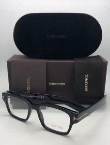 3f9cf934847 New TOM FORD Eyeglasses TF 5527 001 50-18 145 Black   Gold Frame w ...