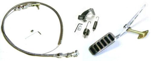 "24/"" Cable Bracket Kit Tri 5 1955 1956 1957 Chevy Car Throttle Gas Pedal"