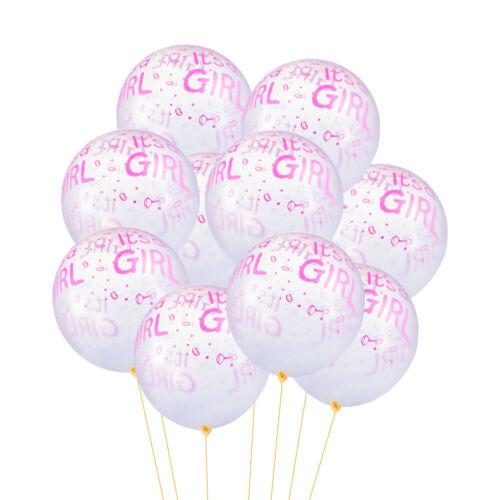 Neuf Elle est un garçon et une fille lettres Latex Ballons Pour Baby Shower Party Decor