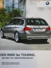 BMW 3er e91 Touring 320i 325i 330i 320d 330d PROSPEKT BROCHURE DI 2005