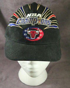 Image is loading Chicago-Bulls-6x-Champs-NBA-Finals-Baseball-Cap- 3bab8ff34bb