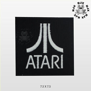 ATARI Patch Iron On Patch Sew On Embroidered Patch