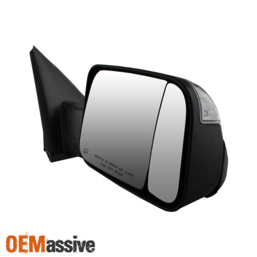 Fit 02-08 Dodge Ram 1500 //03-09 2500 3500 Power Heated Tow Mirrors 2009 Style