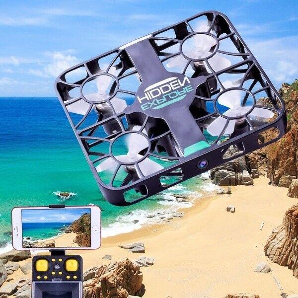 Nuovo SPY DRONE MINI UAV RC CAMERA HD  ️ WI-FI CONTROL IPHONE ANDROID Auto-Follow