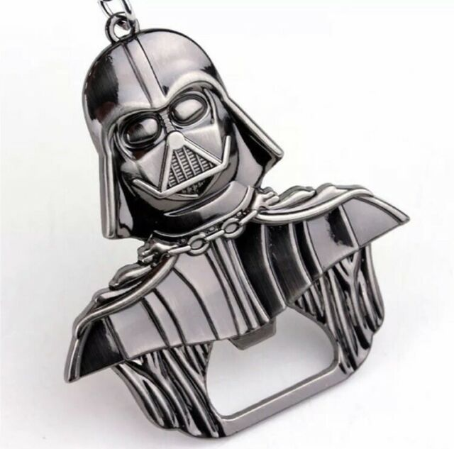 Key holder star wars darth vader metal keychain opener new two colours