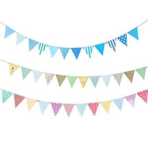 Paper-Flag-Bunting-Birthday-Baby-Boy-Shower-Banner-Garlands-Party-Decoration
