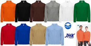 official photos 5fb42 00818 Polo uomo donna manica lunga offerta sport Jhk Home Shop ...