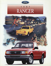 Ford Ranger Prospekt GB USA 1997 sales brochure Auto PKWs Truck Pickup Amerika