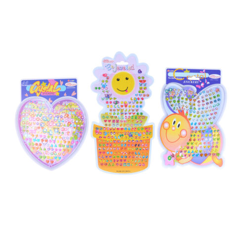 Kids crystal stick earrings stickers toys body bags party jewelry O-N