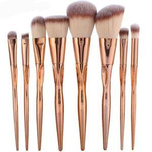 1-4-8PCS-pinceles-de-maquillaje-Brochas-cepillos-polvo-fundacion