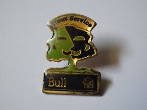 Pin-039-s-Vintage-Lapel-Pin-Collector-Advertising-Prefered-Service-Bull-Lot-F097