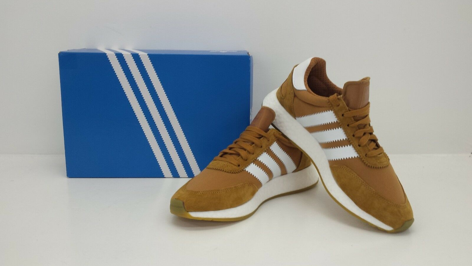 Adidas Originals Mens I-5923 Iniki Mesa/White/Gum CQ2491  - BRAND NEW IN BOX