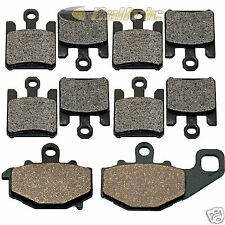 Front & Rear Brake Pads for Kawasaki ZX10R ZX-10R Ninja ZX1000 2004 2005 06 2007
