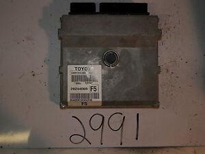 2010-10-TOYOTA-COROLLA-COMPUTER-BRAIN-ENGINE-CONTROL-ECU-ECM-MODULE-UNIT