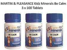 3 x 100 tablets MARTIN & PLEASANCE Kidz Minerals Be Calm * Anxiety  Irritability