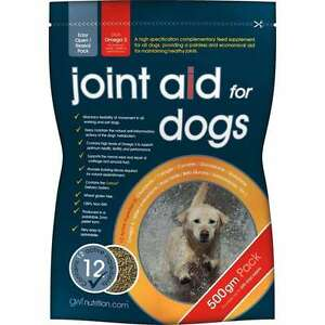 GWF-Joint-Aid-Support-Supplement-For-Dogs-With-Glucosamine-amp-Omega-3-500g
