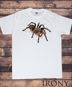 dd2caf62 Men's White Halloween Scary Spider-Spooky 3D Tarantula- Horror T ...