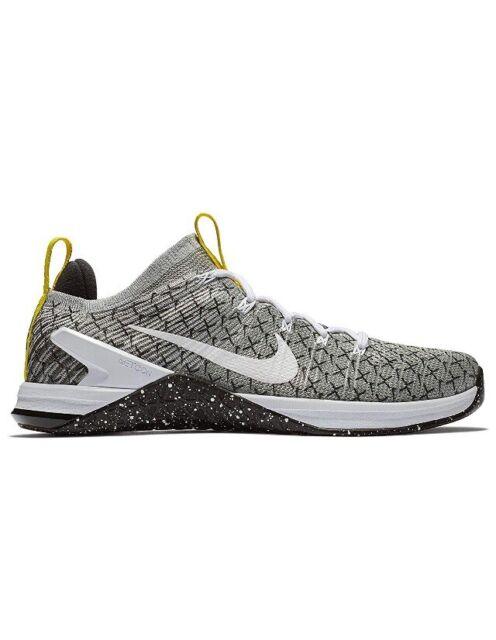 92e3d959ba0 Men Nike Metcon DSX Flyknit 2X Training Shoes Black/White/Yellow AO2807-017