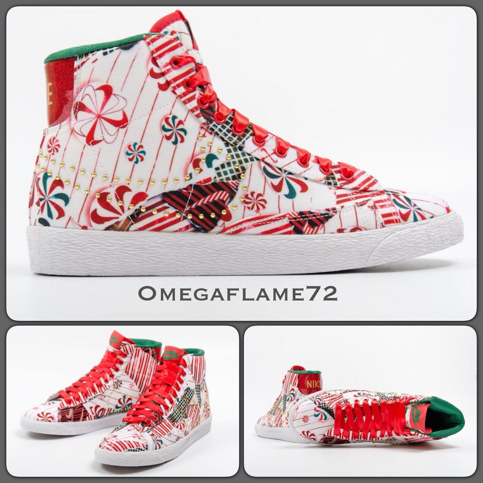 Nike Blazer Mid Premium QS 637990-600, UK 5.5, EU 39, Wrap US 8, Christmas Gift Wrap 39, 332b47