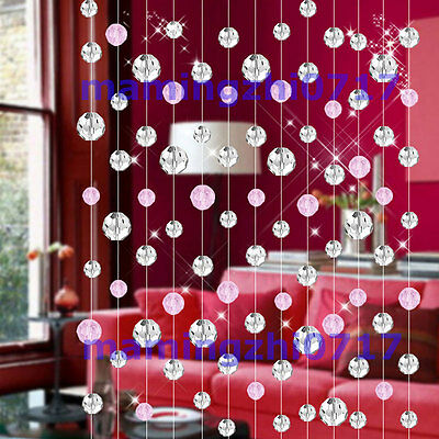 6meters glass crystal bead curtain fashion luxury Home Living Room Bedroom Decor