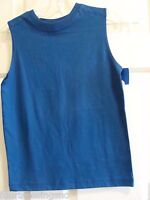 Prospirit Boys Size Medium 8 Blue Tank Top-nwt