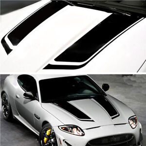 Car Stripes Racing Sports Vinyl Hood Decals Diy Decoration Stickers
