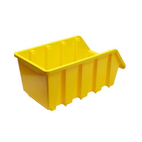 ADB Ergobox Gr.2 gelb 116x161x75mm Sichtlagerkasten Stapelbox Schütte