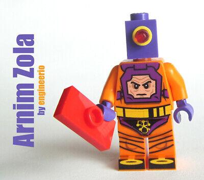 Custom Comic Arnim Zola Super heroes Marvel minifigures on lego brick