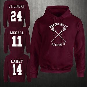 Beacon-Hills-Lacrosse-Felpa-con-cappuccio-teen-wolf-mccall-stilinski-Lahey-Unisex-Felpa
