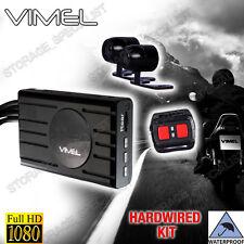MotorBike Dual camera MotorCycle Dash Car 1080P Waterproof Hardwired Truck K1S