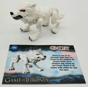 Loyal Subjects Game of Thrones Wave 1 Ghost Vinyl Direwolf Figure