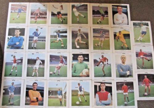 elegir de la lista Fútbol Typhoo Té Tarjetas Inc Inglaterra 1966 Man Utd Espuelas