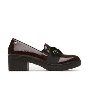 ENVAL-SOFT-4252533-Court-Shoes-Ankle-Boot-Shoes-Burgundy-Woman-Naplak