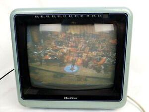 RETRO-VINTAGE-QUASAR-BLUE-TV-Model-WP2145XL-1985-Color-TELEVISION
