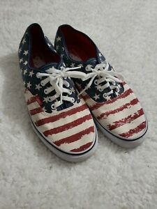 vans american flag