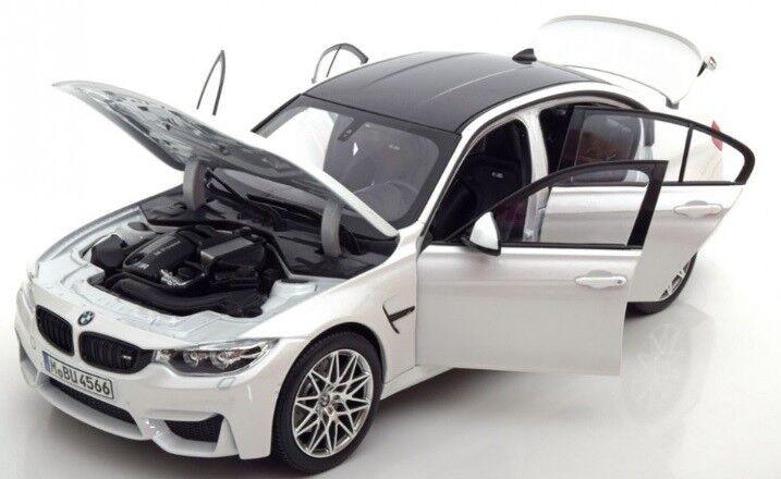 BMW M3 F80 1 18 Escala Modelo Coleccionable Coche En Miniatura 80432411552 553 554