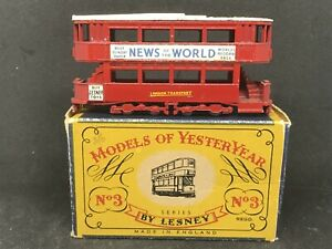 Matchbox-Yesteryear-Y3-Series-1-Is-9-1907-London-E-Class-Tramcar-w-Type-C-Box
