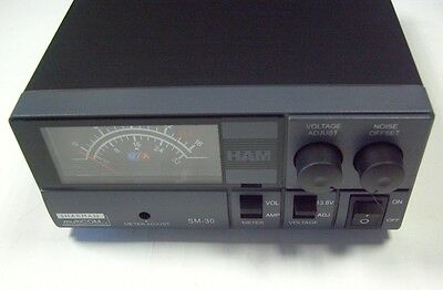 CB and Ham Radio Power Supply 30 Amp 9-15V DC
