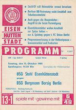 DDR-Liga 81/82 BSG Stahl Eisenhüttenstadt - BSG Bergmann Borsig Berlin 11.10.81