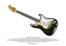Jimi Hendrix's Astoria Stratocaster ART POSTER A3 size