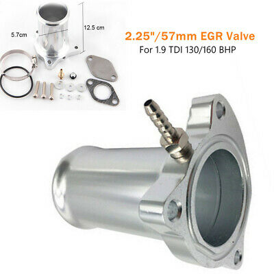 "2.25/"" New EGR Valve Exhaust Circulation Exhaust Pipe For 1.9 TDI 130//160 BHP"