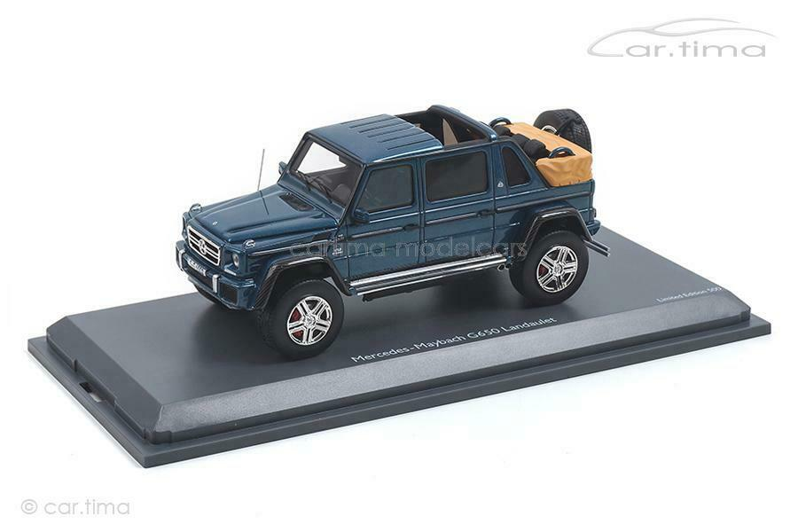 Mercedes Maybach G650-bluee-Schuco 1 43 - 450900400
