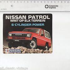 Decal/Sticker - Nissan Patrol