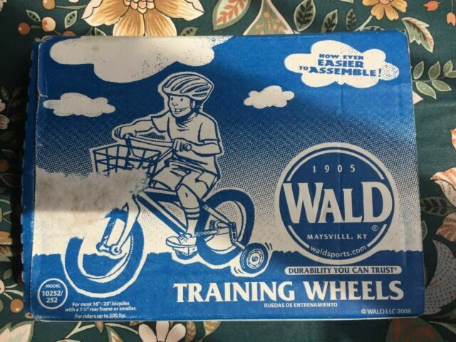 Wald Products 10252 Training Wheels For Sale Online Ebay